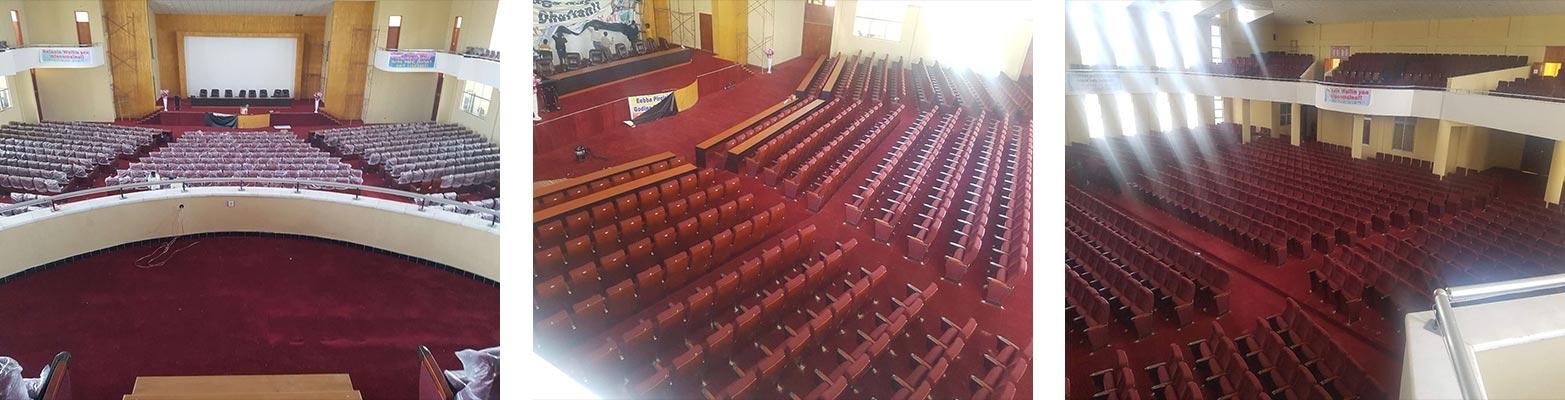 North Shewa Zone Administration Oromo Cultural hall, Ethiopia