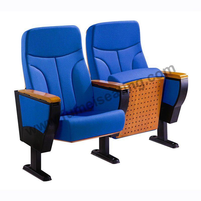 Blue Fabric Auditorium Seats FM-218