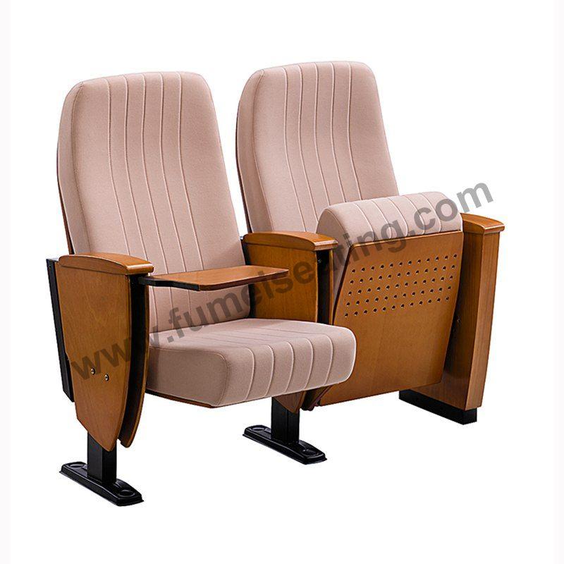 Wooden Armrest Auditorium Seats Auditorium Chair For Concert Hall FM-262