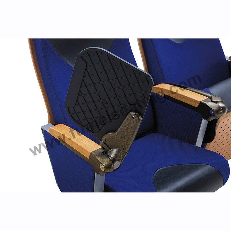 Aluminium Frame Auditorium Seating With Tablet Arm FM-274