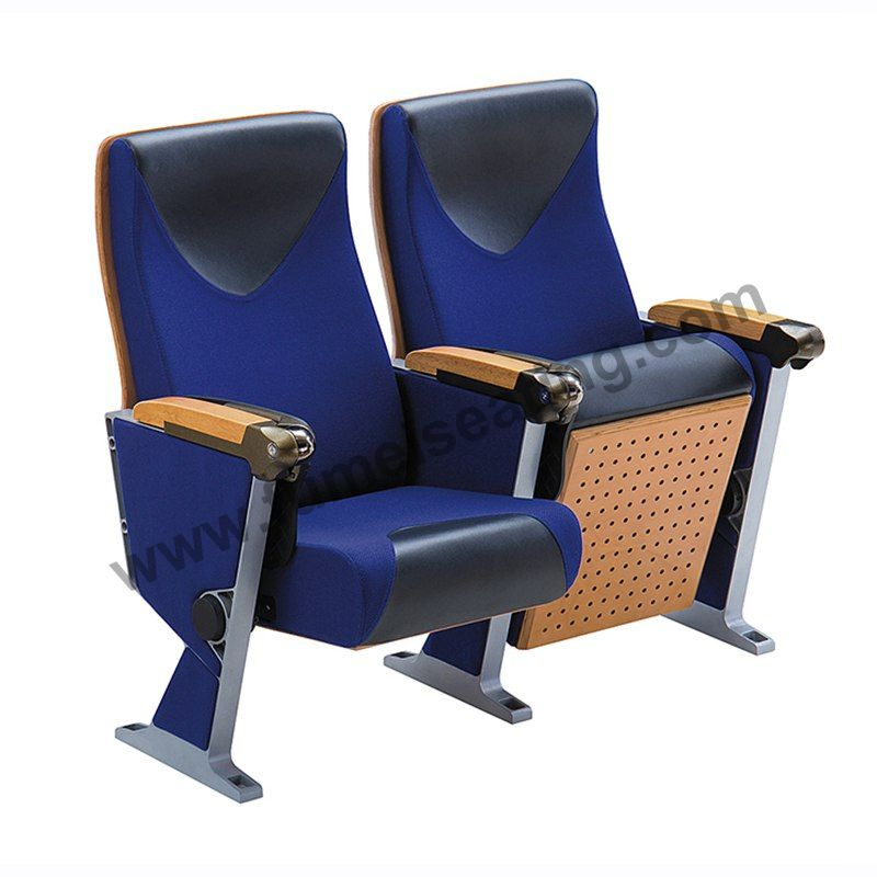 Aluminium Frame Auditorium Seating With Tablet Arm FM-274