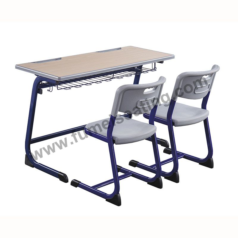 Education Seating FM-A-003 School Double Desk and Chair