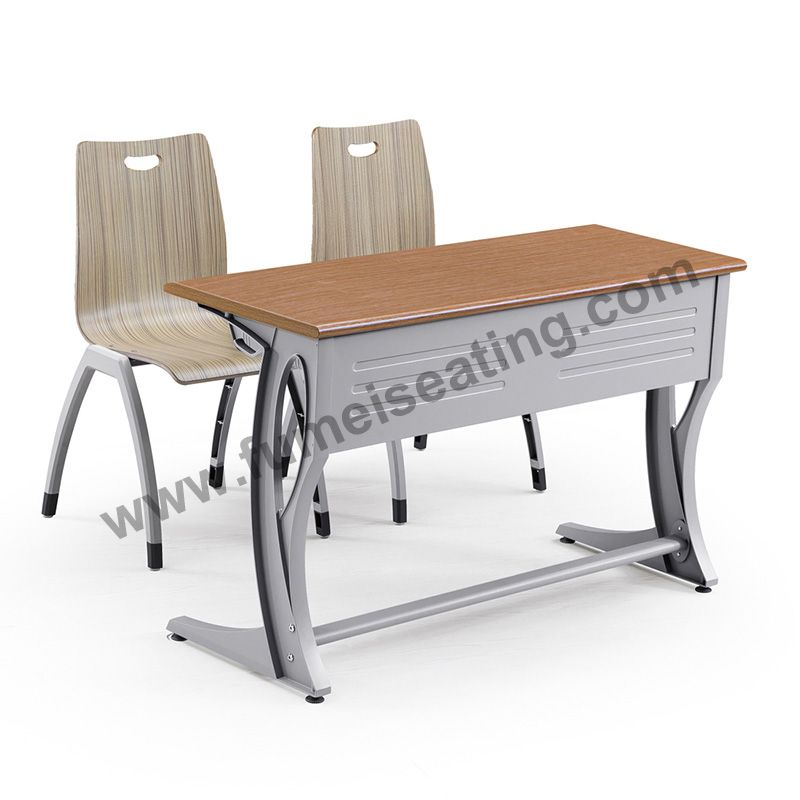 Double Seat Classroom Chair And Table HT-850M