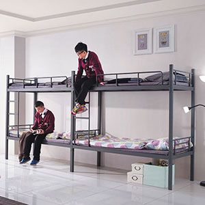 Metal Loft Beds For School Student FM-2055