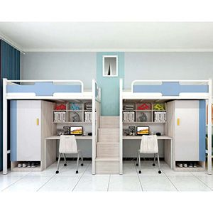 Student Loft Bed College Dorm Bunk Beds T102