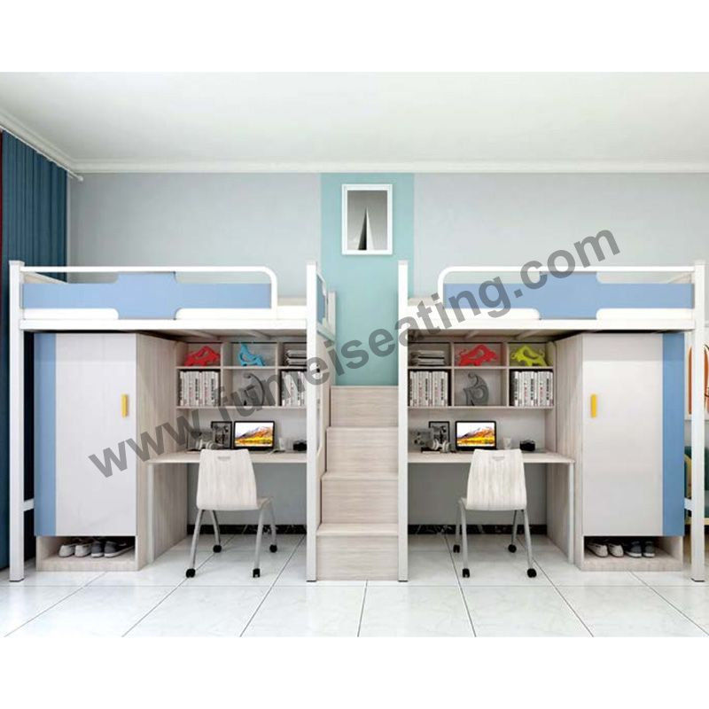 Student Loft Bed College Dorm Bunk Beds T102