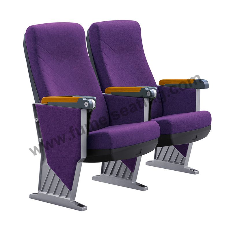 Fixed Seating Aluminium Frame Conference Lecture Hall Auditorium Chair FM-2104