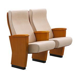 Wooden Armrest Theater Chair FM-2108