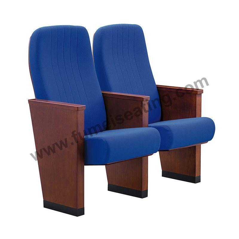 Wooden Armrest Theatre Chair FM-2120