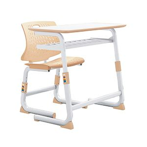 School Furniture Metal Material Primary Middle High Students Desk And Chairs FM-2163