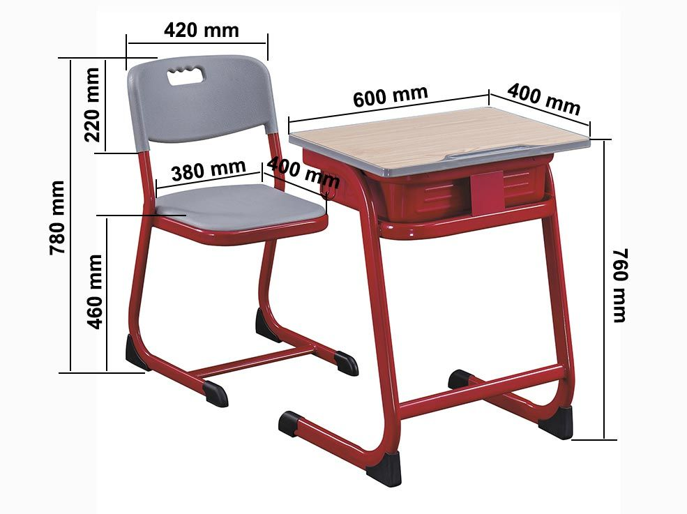 Education Seating FM-A-002 size