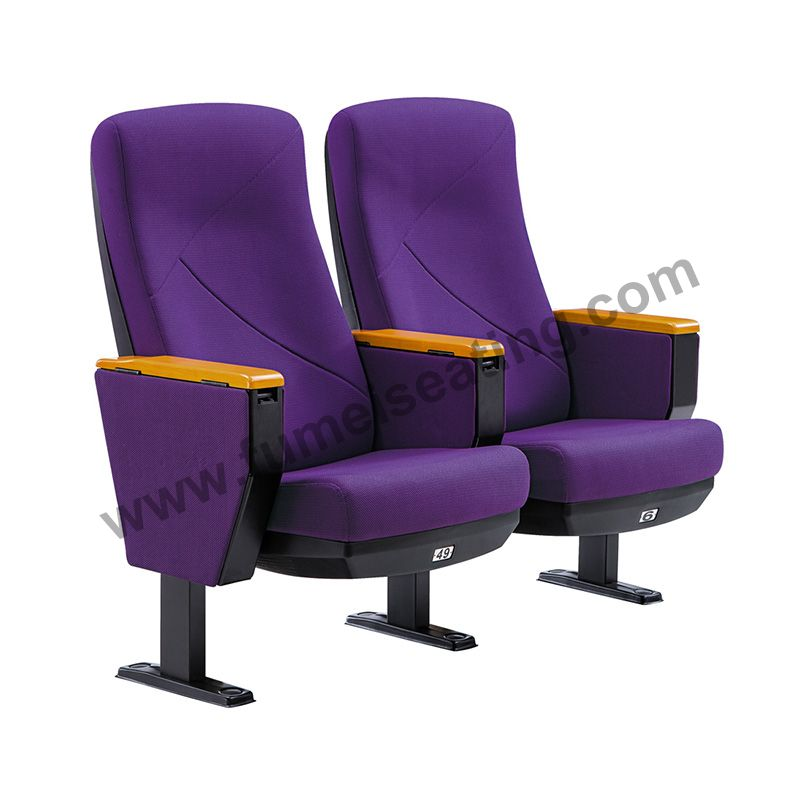 Fabric Theater Chair Auditorium Seating FM-2016